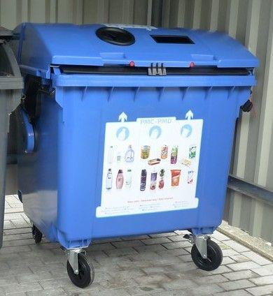 conteneur bleu pmc