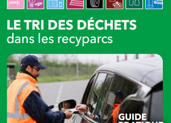 Guide du tri des déchets dans les recyparcs 2018