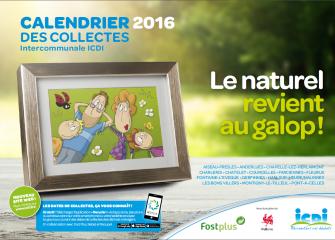 Calendrier des collectes et conseils de prévention des déchets 2016