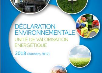 Déclaration environnementale 2018 (données 2017)