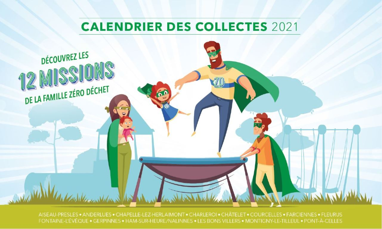 Dates des collectes 2021